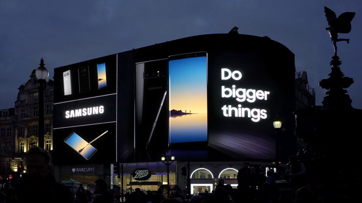 Protected: Samsung Piccadilly Circus